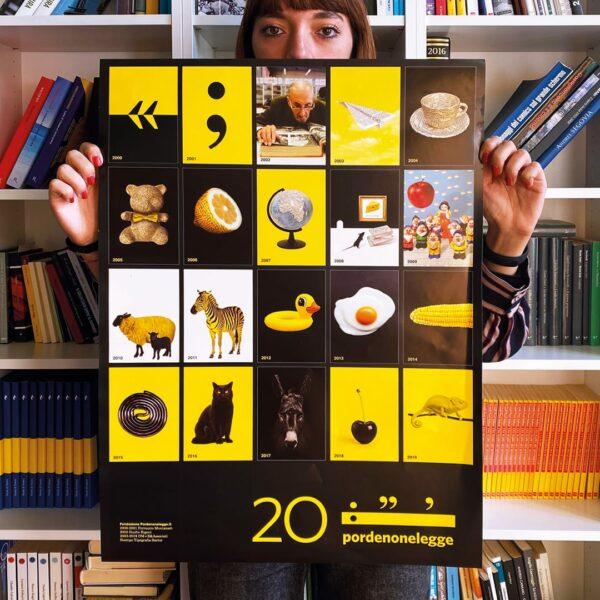 Poster 20 anni 35X57